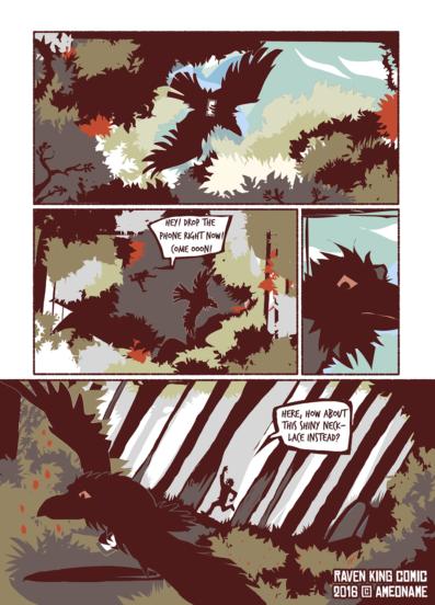 RAVEN KING comic page 16