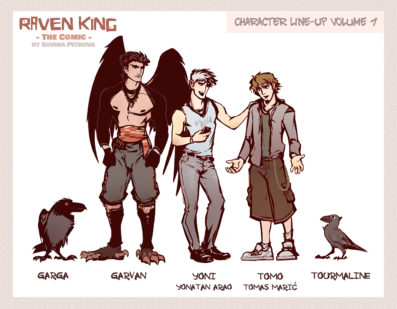 Character Line-Up Volume One