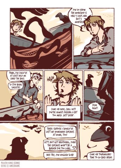 RAVEN KING comic page 7