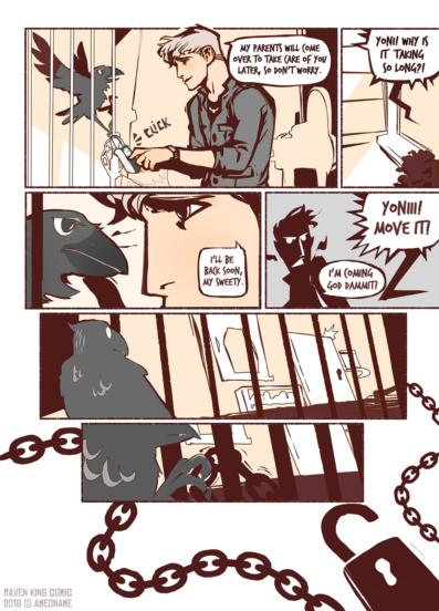 RAVEN KING comic page 8