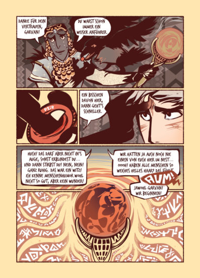RAVEN KING Vol.2 page GERMAN edition