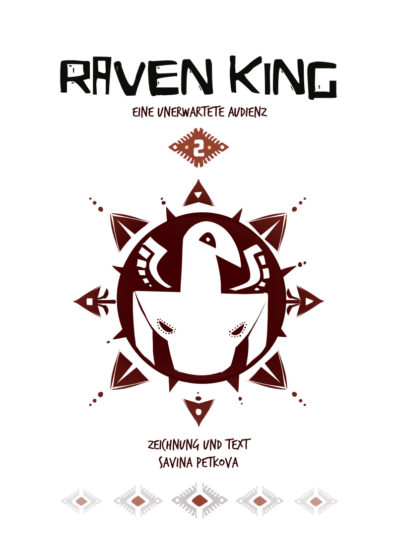 RAVEN KING Vol.2 half-title GERMAN edition